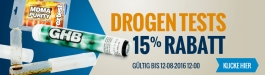 10% Rabatt Drogentests